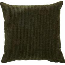 Ledu párna, sötétzöld, 45x45 cm