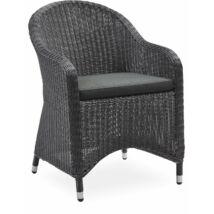 Mali kerti szék, fekete