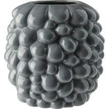 Annali váza, szürke, D25 cm