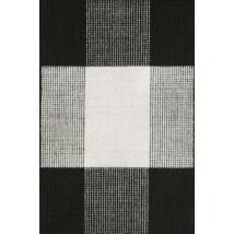 Bologna szőnyeg fekete-fehér, 90x160cm