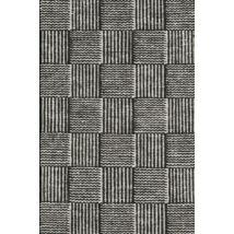 Chess szőnyeg fekete, 90x160cm
