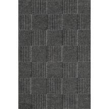 Chess szőnyeg charcoal, 90x160cm