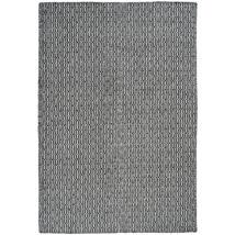 Tile szőnyeg fehér/fekete, 140x200cm