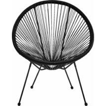 Arista kerti fotel, fekete