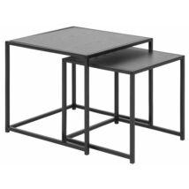 Seaford lerakóasztalok, fekete kőris, 2 db/szett