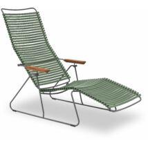 Click napozó szék, zöld