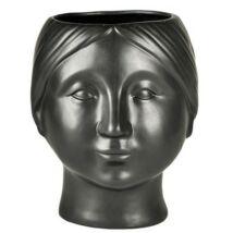 Head kaspó, D19,5 cm, fekete