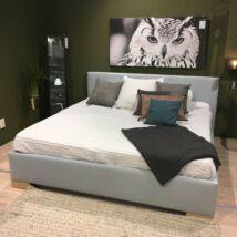Zen Futon ágy, 160x200 cm, pasztell kék szövet