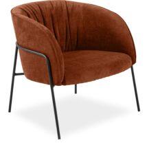 Scandia fotel, rozsdavörös