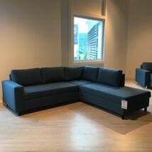 Devon Flex sarok ágyazható kanapé, nyitott véggel, jobbos, petrol