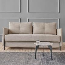 Cubed 140 ágyazható kanapé, homokszürke szövet