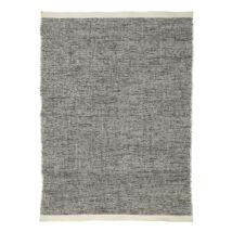 Quebec kilim szőnyeg, 170x240 cm, fekete-fehér