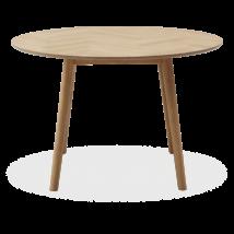 Richmond étkezőasztal, olajozott tölgy, D120 cm