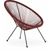 Arista kerti szék, piros