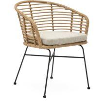 Bianchi kerti szék, natúr rattan