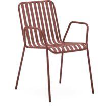 Lioni kerti szék, borvörös