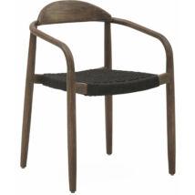 Javi kerti szék, fekete