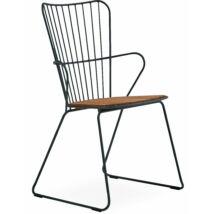 Paon kerti szék, fekete