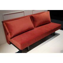 Hildur kanapéágy, piros bársony