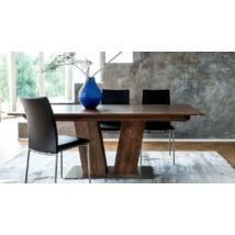 Skovby SM39 étkezőasztal bővíthető, dió furnér