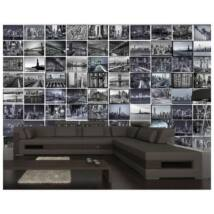 Creative Collage THE BIG APPLE poszter