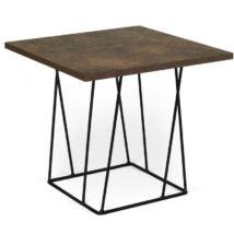 Helix lámpaasztal, rusztikus