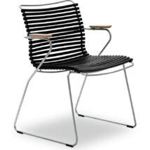 Click kerti szék, fekete
