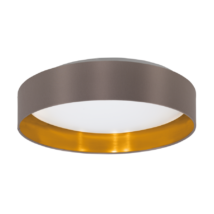Maserlo mennyezeti lámpa, műanyag/acél