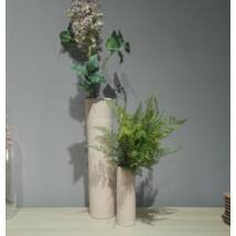 Porto váza rózsaszín/fekete nagy kerámia