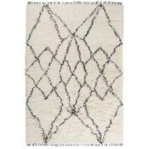 Ruffle szőnyeg feketemintával 170x240cm