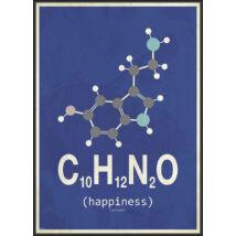 Molekula-Happiness kép, 50x70cm