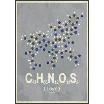 Molekula-Love kép, 50x70cm