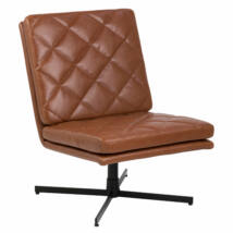 Carrera fotel, brandy textilbőr