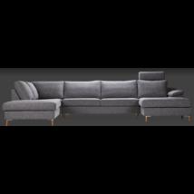 San Francisco kanapé, szürkéskék szövet