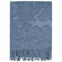 Modern Rose pléd, 130x170 cm, kék