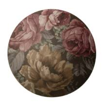 Ashley alátét, D38 cm, virágmintás, 2-es szett