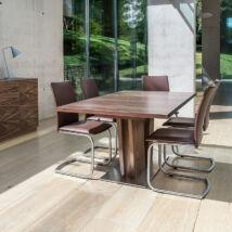 SM37 bővíthető étkezőasztal, lakkozott dió