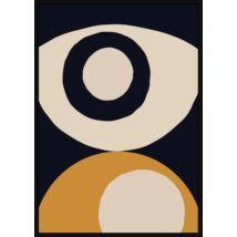 Eyeball kép, fekete kerettel, 70x100 cm