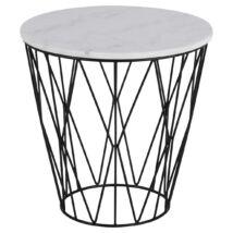 Dudley lámpaasztal, fehér márvány