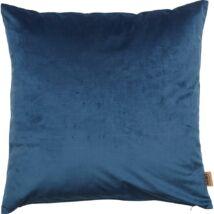 Hedmark díszpárna, kék velúr, 45x45 cm
