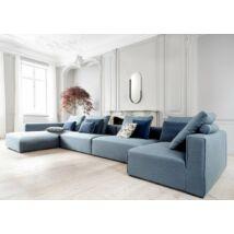 Liam moduláris kanapé balos, türkiz szövet