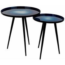 Flow lámpaasztal 2db-os szett, Kék