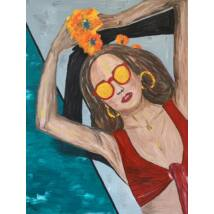 Blanca festmény, 90x120cm