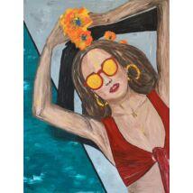 Blanca festmény, 60x80cm