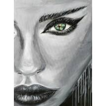 Dalia festmény, 60x80cm