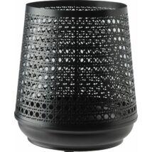 Taylor lámpás, fekete fém, D14 cm