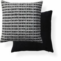 Gracelyn párna, fekete-fehér, 50x50 cm