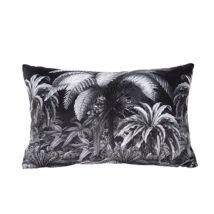 Jungle párna, fekete, 60x40 cm