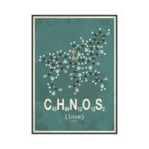 Molekula Szerelem kép, 50x70cm