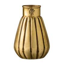 Redőzött váza, Sárgaréz